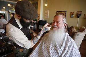 Step Lights Specialty Barbers Focus On Beards As Facial Hair Grows