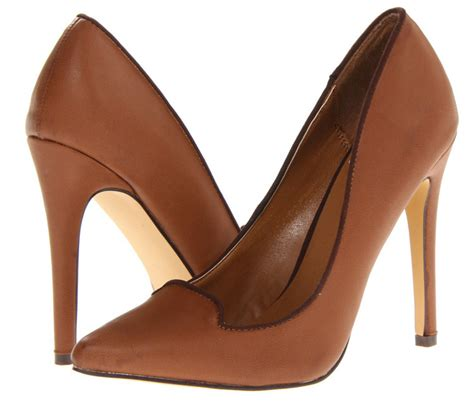 cognac coloured high heels are only 55 high heels daily