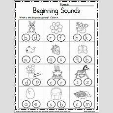 Free Beginning Sounds Worksheets Madebyteachers