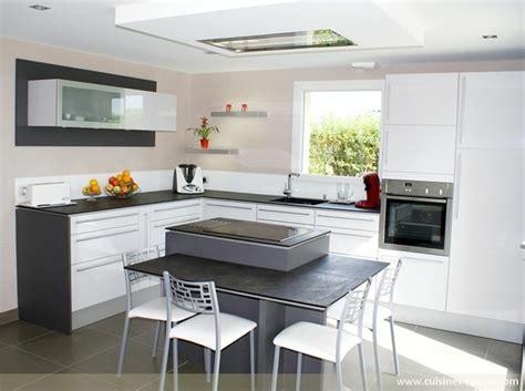 cuisine avec ilot central et coin repas coin repas cuisine pas cher banquette meubles jardin avec