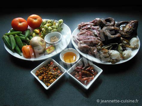 sauce cuisine sauce gouagouassou plat africain jeannette cuisine