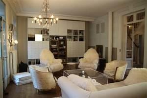 Eclairage Salon Sejour : style romantique salon ~ Melissatoandfro.com Idées de Décoration