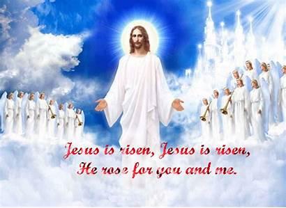 Jesus Risen Easter Religious Cards Greeting Greetings