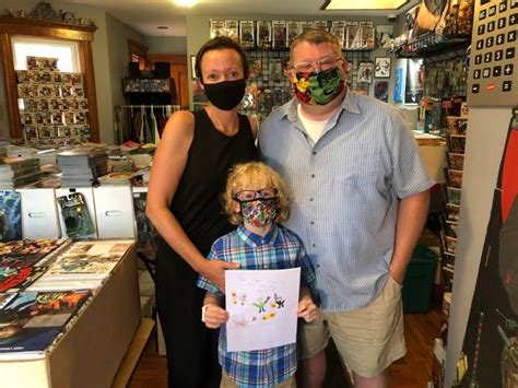 Alberta's vaccination program is underway to save lives and livelihoods. 7-year-old comic book creator raising money for COVID-19 ...