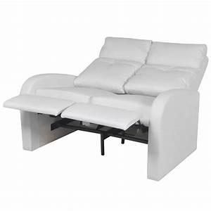 Kunstleder Sofa 2 Sitzer : der kunstleder heimkino relaxsessel sessel sofa 2 sitzer wei online shop ~ Bigdaddyawards.com Haus und Dekorationen