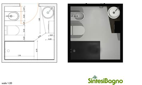 Progetti Bagni Piccole Dimensioni by Rendering Revolution Progetto Rendering Per Un Bagno Piccolo