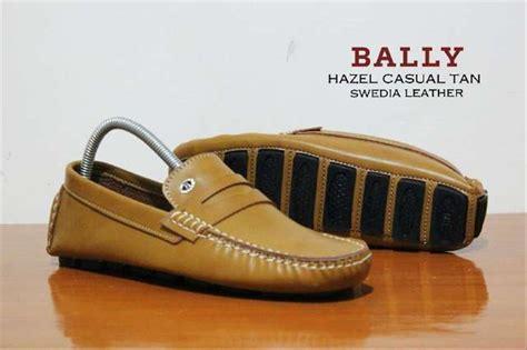 Sepatu Bally Casual Pantofel jual bally slop formal slip on casual kulit sepatu santai