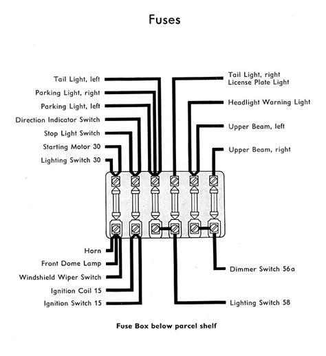 1957 Bug Wiring Diagram by 1957 Wiring Diagram Thegoldenbug