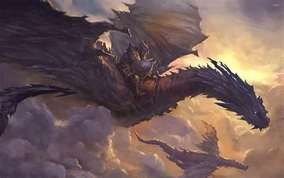 Dragon Knight Fantasy Dragons Concept Smough Ornstein