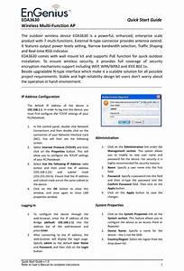 Engenius Eoa3630 Quick Start Manual Pdf Download