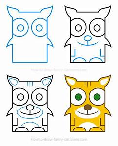 How To Draw A Bobcat Clipart Animals Pinterest