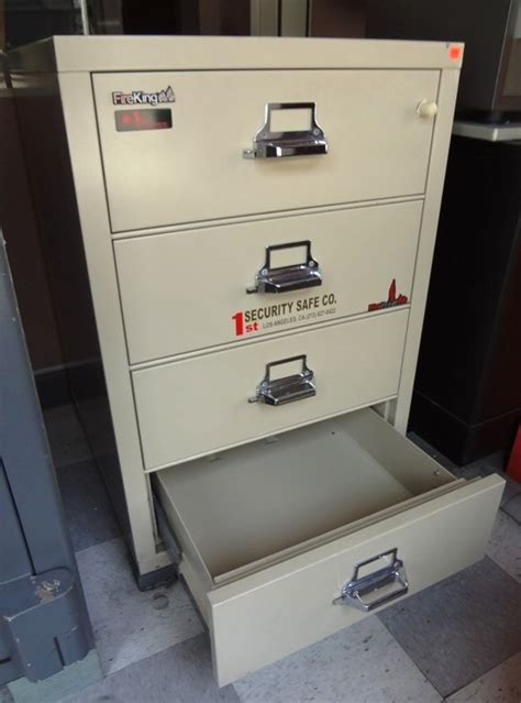 Used Fireproof File Cabinets Los Angeles by 64 King Security Safe Company
