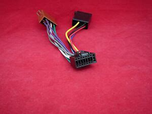 Kenwood Pin Iso Car Kdc Krc Wiring Power Lead Cable