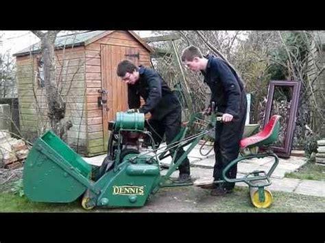 dennis motor lawn mower youtube