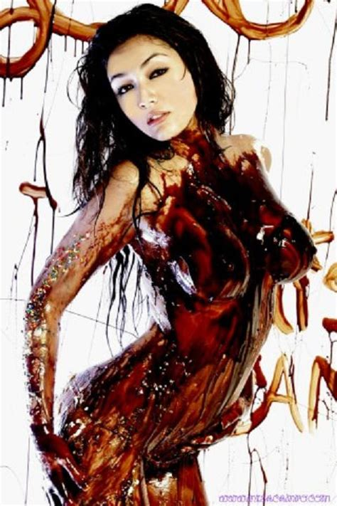 Misa Campo Covered In Chocolate Syrup Porn Pic Eporner