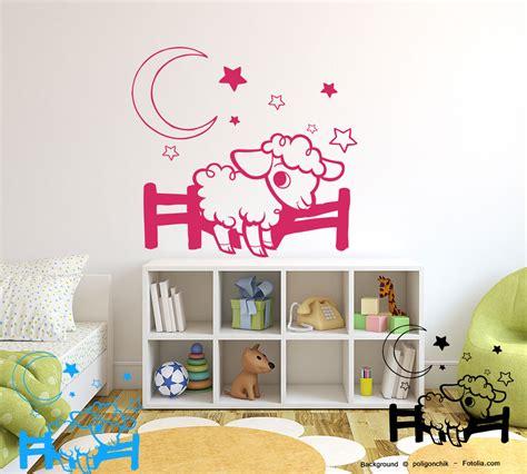 Wandtattoo Kinderzimmer Schafe by Wandtatoo Gute Nacht Schaf Traumschaf Wandaufkleber