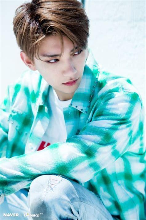 seventeen joshuas hair colors kpop korean hair  style