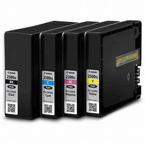 Canon Ink Cartridge PGI-2500XL Black, Cyan, Magenta ...