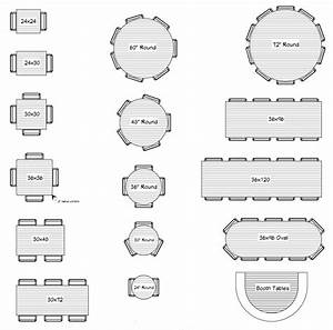Restaurant Layout  U0026 Restaurant Table Sizing  A Simple