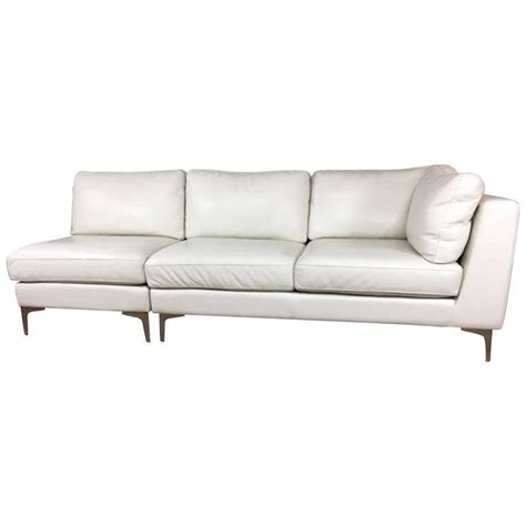 Design Within Reach Sofa By American Leather Company For