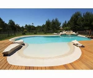 piscine avec plage immergee composition atouts ooreka With piscine avec plage californienne