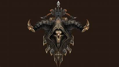 Demon Diablo Hunter Desktop Dark Wallpapers Fantasy