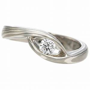 hara mokume gane engagement ring With mokume wedding rings