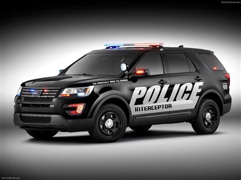 2018 Ford Interceptor Police Utility Vehicle Suv Wallpaper