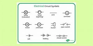 Electrical Circuit Symbols Ks3