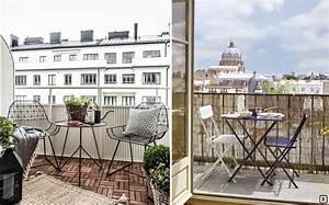 Amenager Petit Balcon Appartement : mobilier pour petit balcon awesome inspiration meubles ~ Zukunftsfamilie.com Idées de Décoration