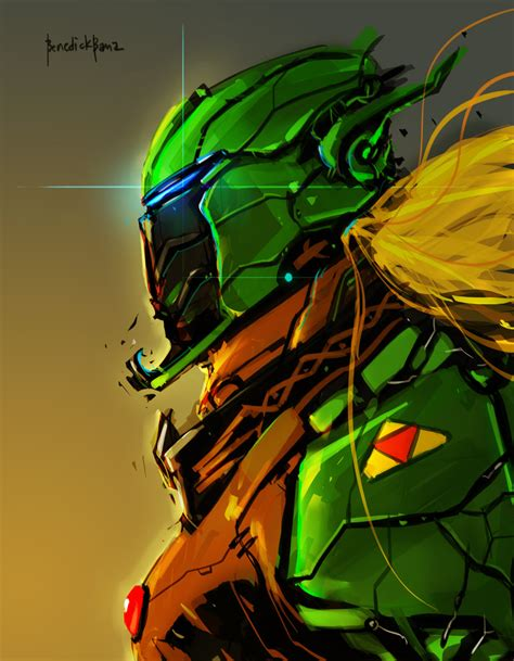 Legend Of Zelda Link Cyber Evolution Fan Art By