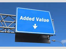 Added Value Highway Sign Bachrach Blog