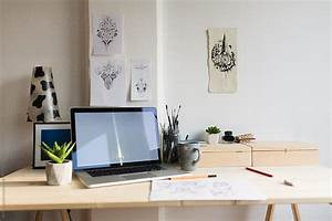 Desk Setup Of A Graphic Designer | Stocksy United