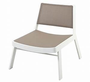 Fauteuil De Jardin Blanc : fauteuil de jardin aluminium blanc 99 salon d 39 t ~ Teatrodelosmanantiales.com Idées de Décoration