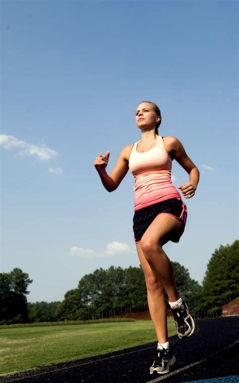 fitness cropped free picture running track