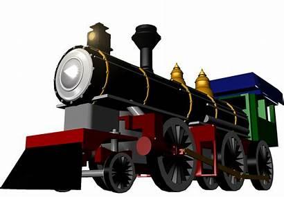 Train Engine 3d