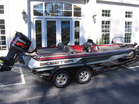Used Bass Boats Buford Ga by 1999 Skeeter 185 Zx 18 6 Quot Bass Boat Used Excellent
