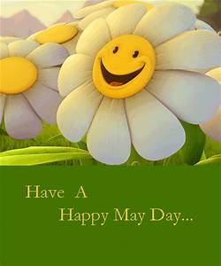 Happy May Day With Sunflower. Free May Day eCards ...