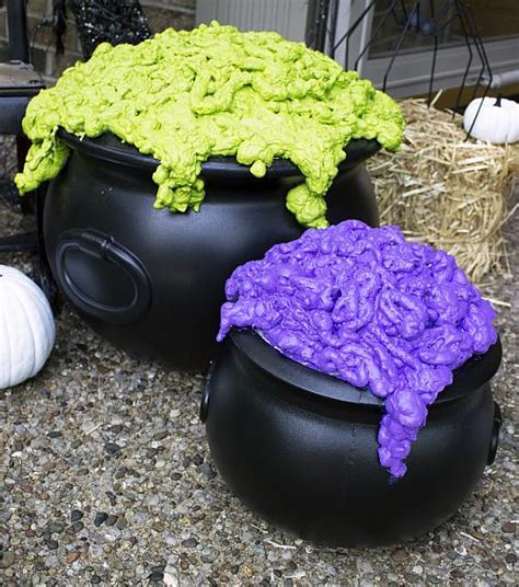 diy bubbling witchs cauldron project  decoart
