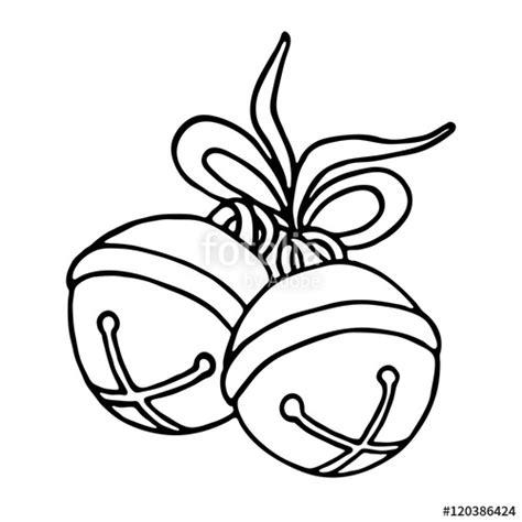 how to draw a jingle bell quot jingle bells with bow on a white background quot im 225 genes de archivo y vectores libres de derechos