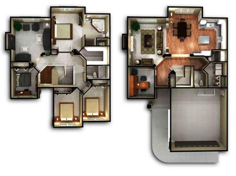 koleksi denah rumah minimalis  lantai terbaik