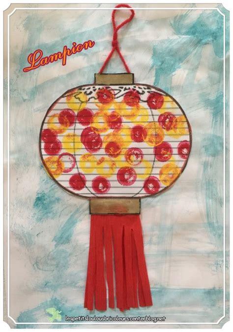 activite manuelle lanterne chinoise 1000 id 233 es 224 propos de nouvel an chinois sur