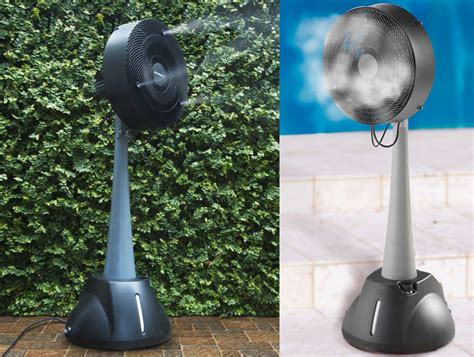 auramist milo hoseless evaporative misting fan the