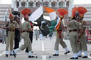 At Wagah Border, India, Pakistan Continue Flag Ceremony ...