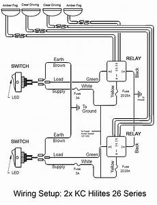 55 Elegant Kc Light Wiring Diagram In 2020