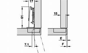Charnière Invisible En Applique : charniere salice silentia sans embase 7b4 cuisinesr ~ Melissatoandfro.com Idées de Décoration