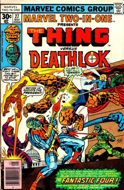 Marvel Two-In-One #27 [1977] – Cover | Jack Kirby Comics ...