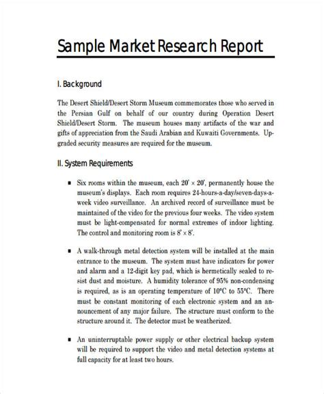 13+ Research Report Examples  Pdf, Word