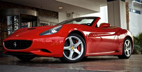 Ferrari California  #1 Exotic Car Rentals
