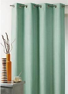 Voilage Vert D Eau : rideau vert pastel ~ Dode.kayakingforconservation.com Idées de Décoration